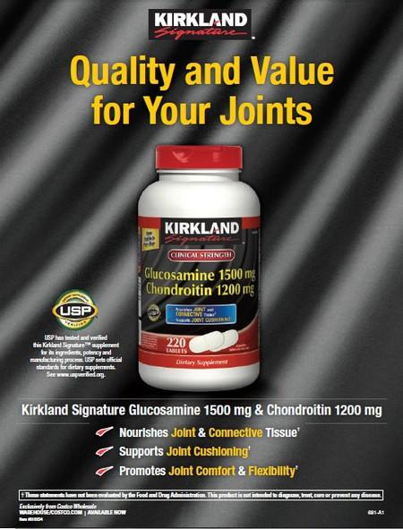 Glucosamine 1500mg & Chondroitin 1200mg là sản phẩm chất lượng giúp nuôi dưỡng sụn khớp