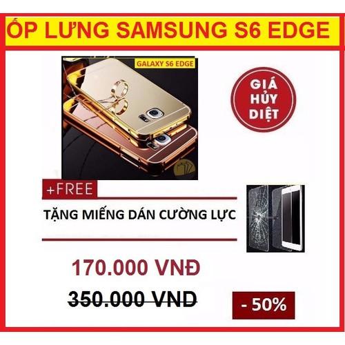 ỐP LƯNG TRÁNG GƯƠNG SAMSUNG GALAXY S6 EDGE