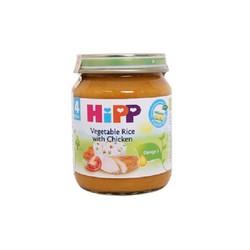 Thực Phẩm Đóng Lọ HIPP - Thịt Gà, Cơm Nhuyễn, Rau Tổng Hợp