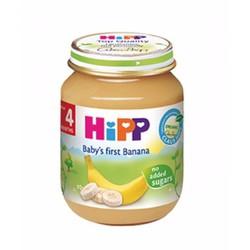 Thực Phẩm Đóng Lọ HIPP - Chuối Ăn Dặm