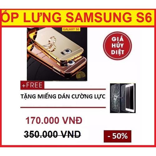 ỐP LƯNG TRÁNG GƯƠNG SAMSUNG GALAXY S6