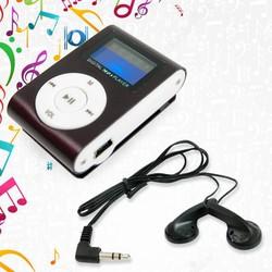 MÁY NGHE NHẠC MP3 CÓ MÀN HÌNH LCD TẶNG KÈM TAI NGHE