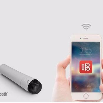 Kết quả hình ảnh cho Micro Karaoke Không Dây Bluetooth Edifier MU500 Cho Điện Thoại, Máy Tính Bảng