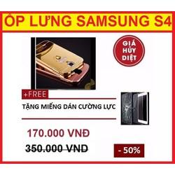 ỐP LƯNG TRÁNG GƯƠNG SAMSUNG GALAXY S4