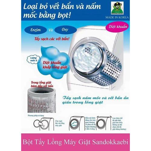 Bột tẩy lồng máy giặt