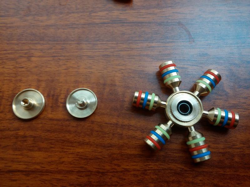 Spinner 6 Cánh Bi Inox 12