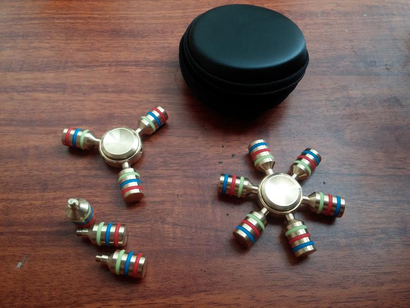 Spinner 6 Cánh Bi Inox 11