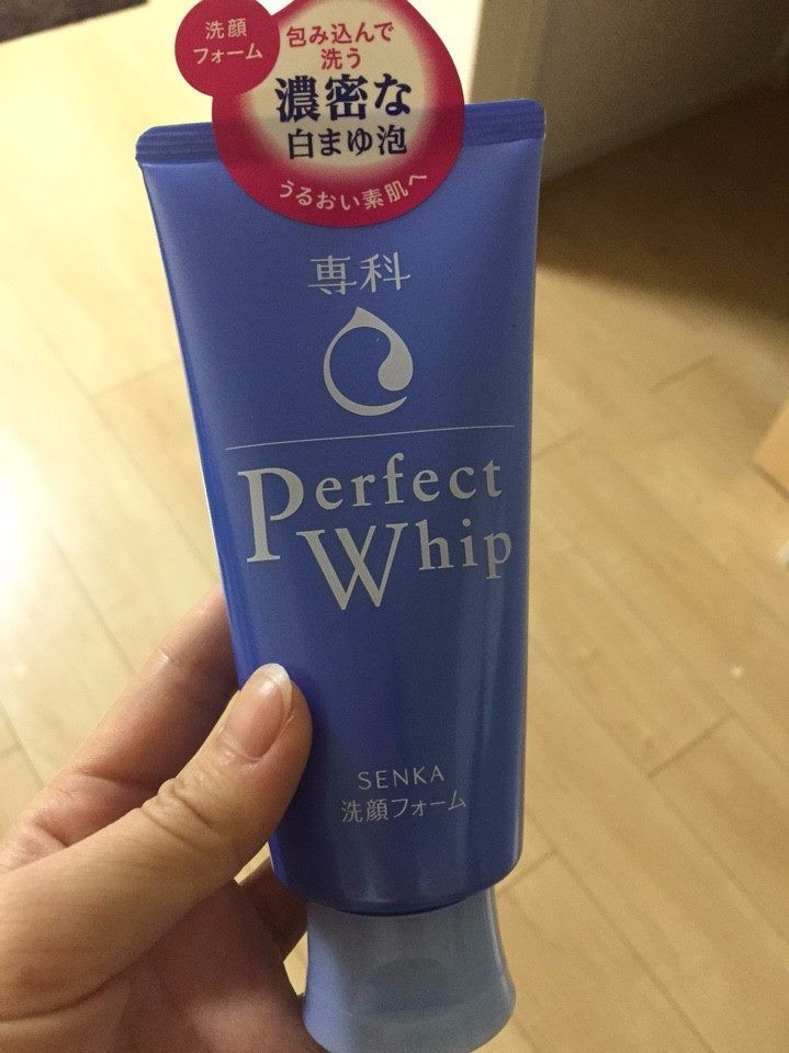 Sữa rửa mặt Shiseido Perfect Whip màu xanh