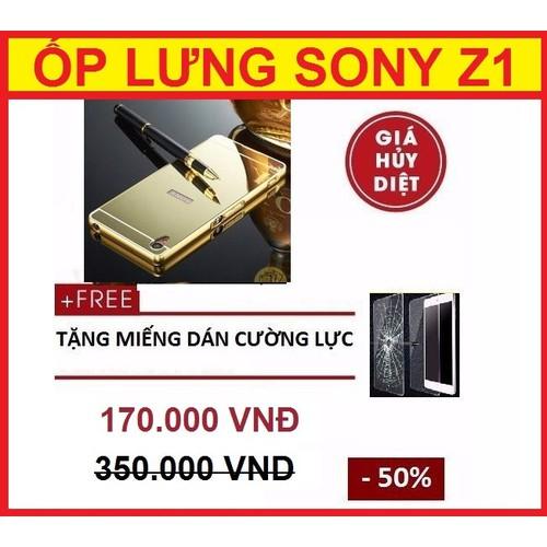 ỐP LƯNG TRÁNG GƯƠNG SONY Z1