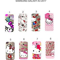Ốp lưng Samsung Galaxy A3 2017 dẻo in hình Kitty