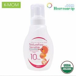 Nước Rửa Bình và Rau Quả Hữu Cơ K-Mom Dạng Chai 500ml VKM13128