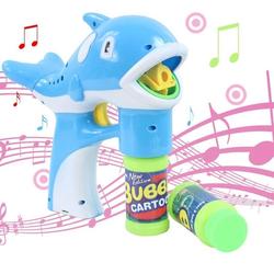 Súng bắn bong bóng có nhạc cho trẻ, thú vị, độc đáo giá rẻ Cần thơ