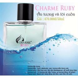 Nước hoa Charme Ruby - Nam - Eau De Parfum - 50ml