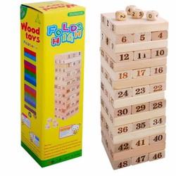 Bộ đồ chơi rút gỗ LỚN, Boardgame thú vị, hấp dẫn, giá rẻ tại Cần Thơ