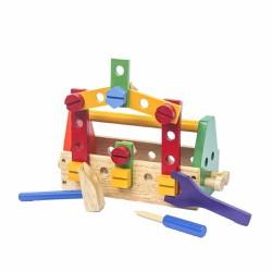 Bộ đồ chơi nghề sửa chữa gỗ