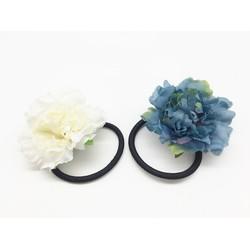 Dây buộc tóc đính hoa phong cách Hàn Quốc