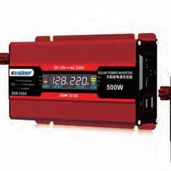 Bộ đổi điện 500W 12V sang 220V có đồng hồ hiển thị