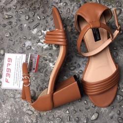 Giày cao gót đế vuông HU7982BO-HU7982BO