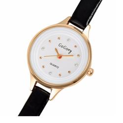 Đồng hồ thòi trang nữ Gogoey-đen