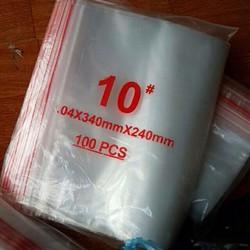 Túi zipper số 10 kích thước 34*24cm