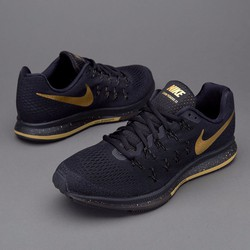 giày Nike Zoom Pegasus 33 LE BG Black and Gold 880103-007