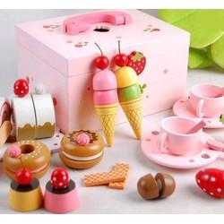 Bô đồ chơi tiệc ngọt Mother Garden- Mua quà gì cho bé ngày 1-6
