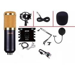 Combo Micro BM800 Full + Dây livestream chất lượng, giá rẻ hấp dẫn