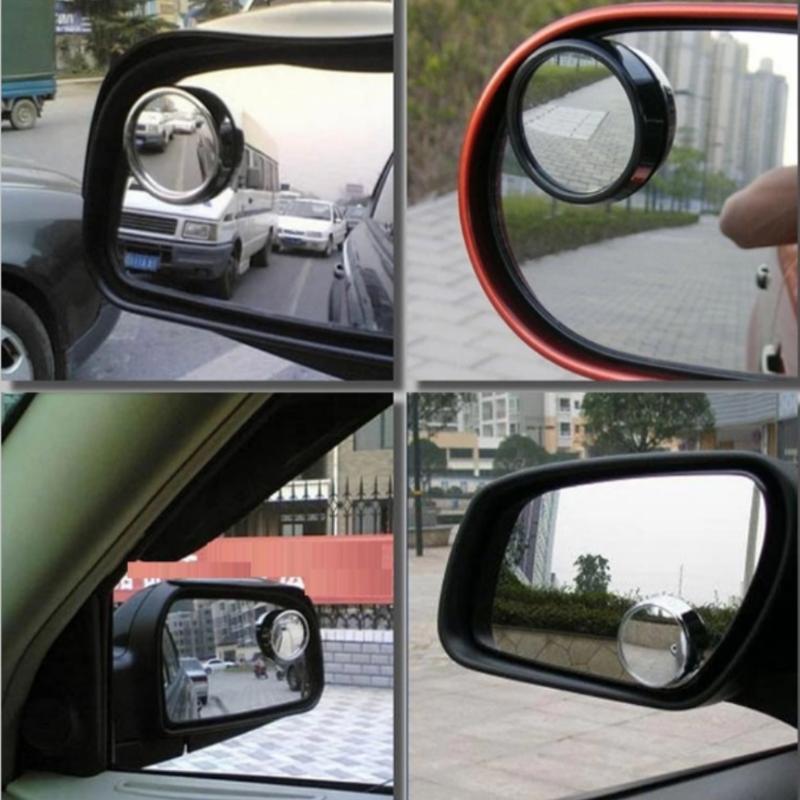 Bộ 2 gương phụ gắn kính chiếu hậu xe ô tô HQ TI190 3