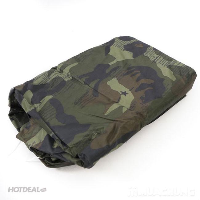 Bộ Áo Mưa Lính Vải Dù Cao Cấp Chống Thấm size 3XL 8