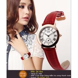 Đồng hồ nữ chính hãng chống nước Skmei