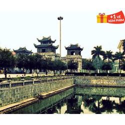 Tour du lịch Hoa Lư  Tam Cốc 01 ngày  Tặng 01 vé xem phim CGV