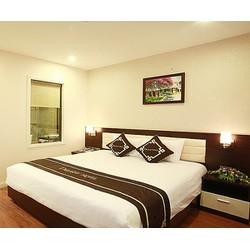 Phòng Deluxe Double  Twin  Khách sạn Delight Hà Nội 2N1Đ