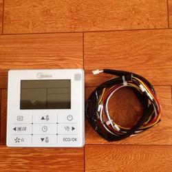 Điều khiển điều hoà MIDEA điều khiển DÂY bền đẹp model2014 KJR90D Bk