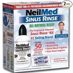 Bộ rửa mũi 50 gói muối Neilmed Sinus Rinse regular