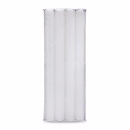 Hộp 12 cây nến thơm thẳng 25cm 9 inch NQM FtraMart trắng