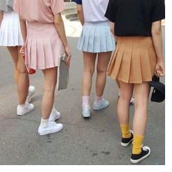Chân váy tennis xếp ly năng động xinh iu