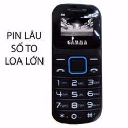 Điện thoại Gamma M1 2 Sim Số To Loa To
