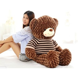 Gấu bông Teddy Áo Len Size 1m2