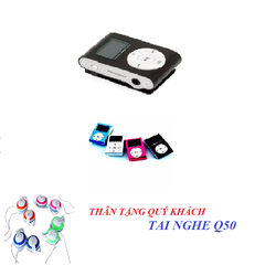 Máy nghe nhạc MP3 tặng một tai nghe Q50