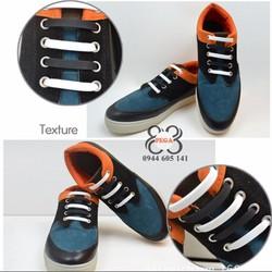 Dây giày co giãn tiện lợi bộ 10 sợi