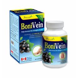 BoniVein - Giúp điều trị và phòng ngừa bệnh suy giãn tĩnh mạch và trĩ.