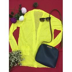 Áo khoác len mỏng, form dài cardigan #SL000009