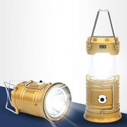 Loại lớn : Đèn năng lượng mặt trời có pha và sạc dự phòng