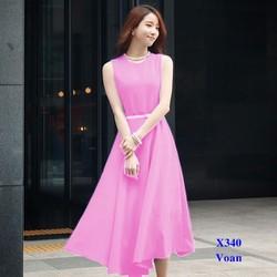 Đầm Maxi Voan Dài Cao Cấp