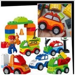 Bộ đồ chơi xếp hình thế giới xe