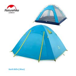 Lều cắm trại NatureHike 4-5 Người Màu Xanh Biển