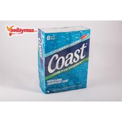 Lốc 8 Cục Xà Bông Coast 113g