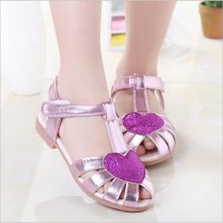 Giày sandal bé gái trái tim 3-8 tuổi