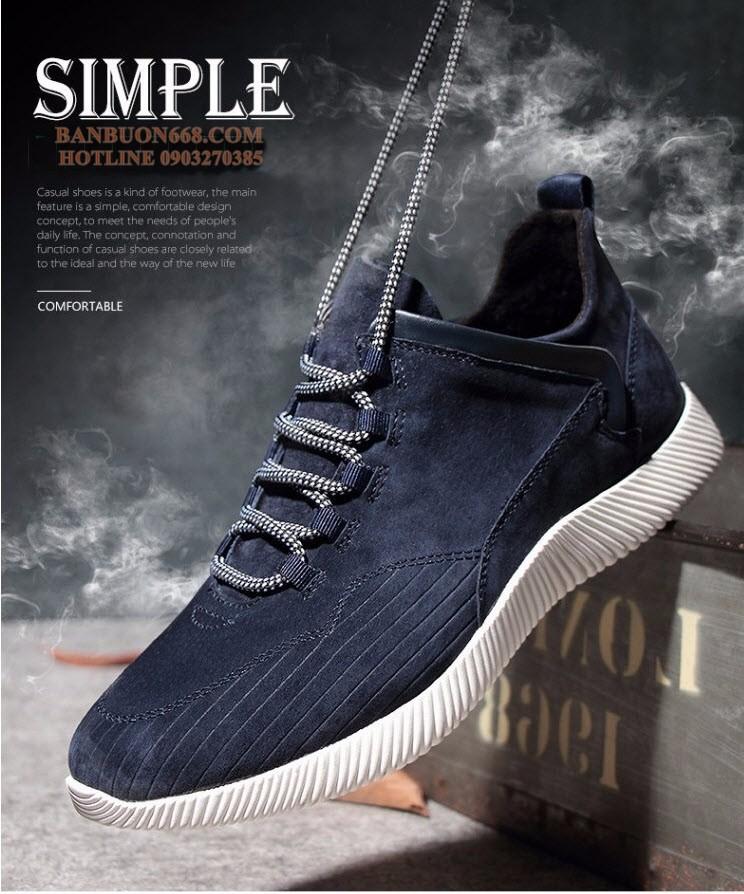 Giày nam thời trang - Kiểu dáng hàn quốc 2