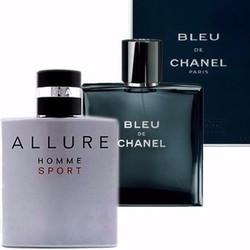 Combo 2 nước hoa nam Bleu de-chanel và Allure